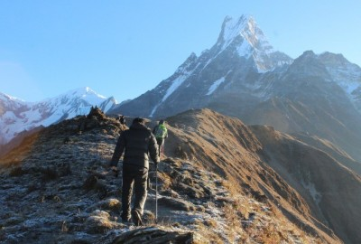 trekking in nepal on budget
