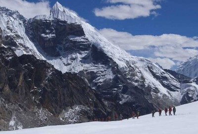 high pass trekking nepal