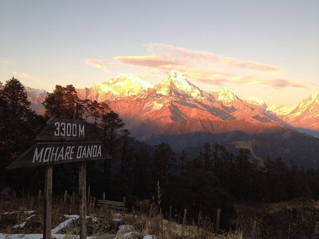 annapurna community eco lodge trek