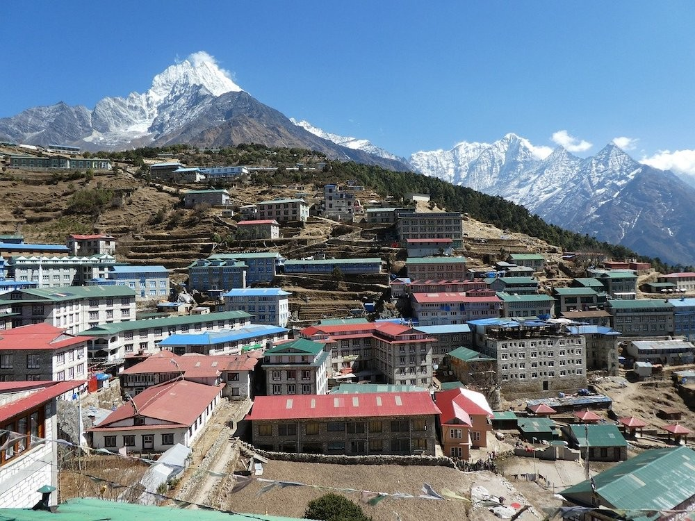 namche bazaar everest view
