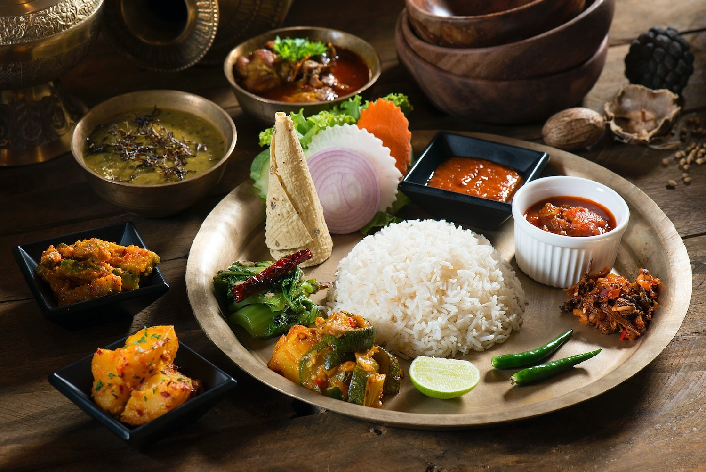 nepalese food travel