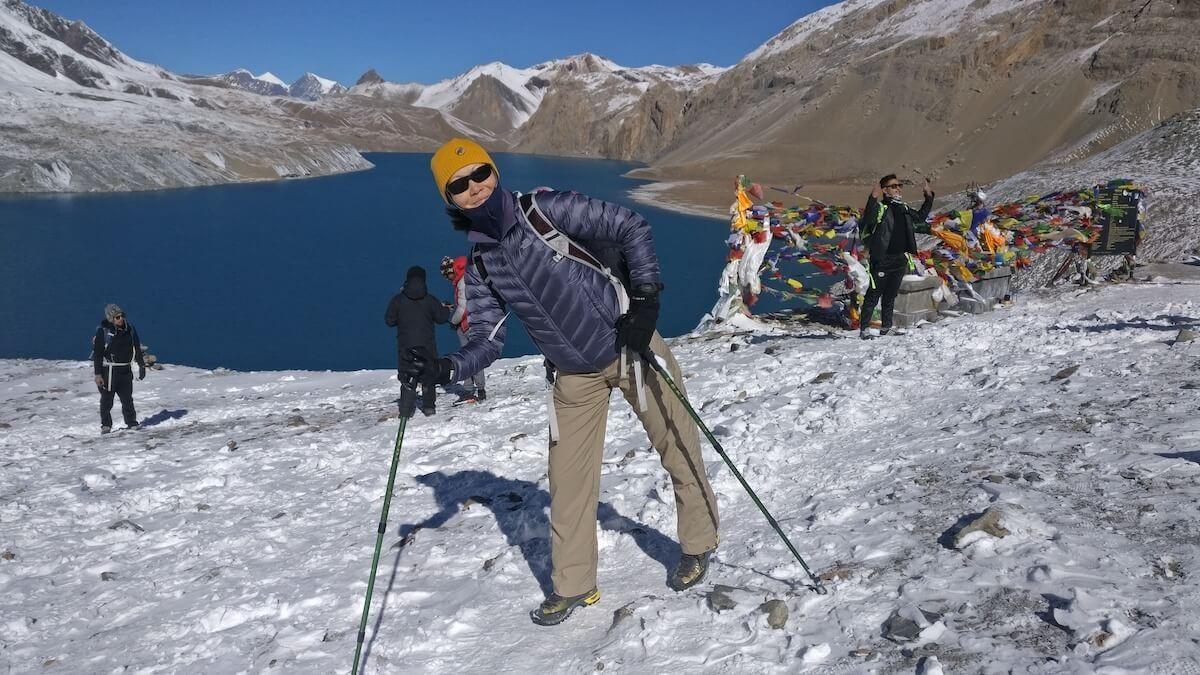 solo women trekking nepal