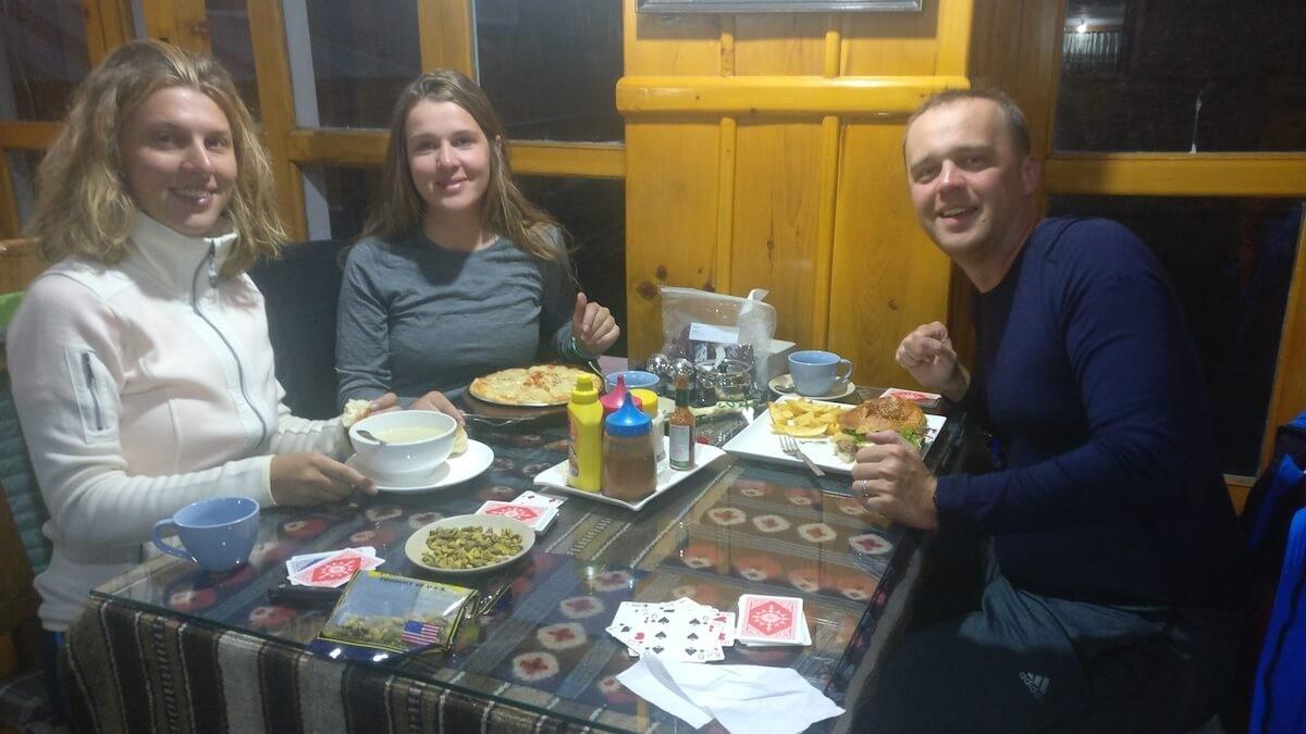 teahouse dining nepal