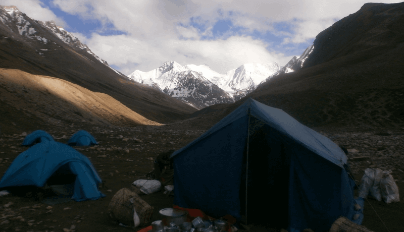 food and accommodation upper dolpo region