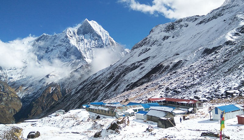 annapurna base camp height