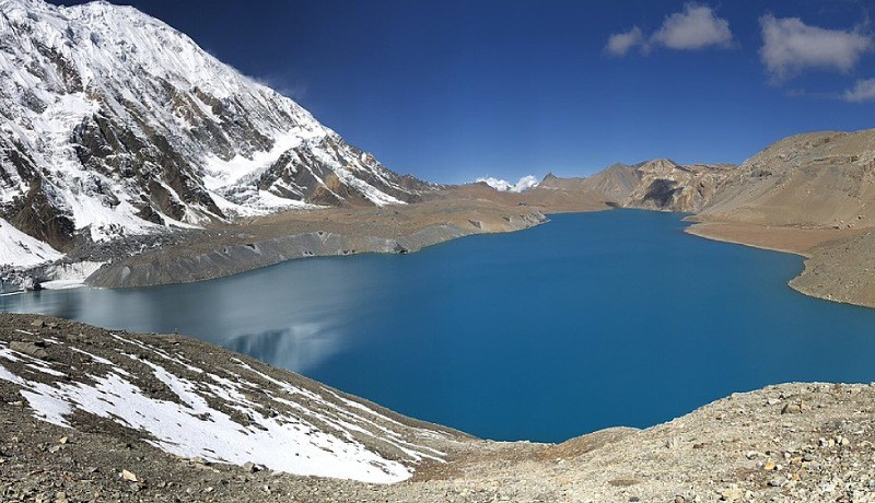 annapurna three passes trek tilicho lake