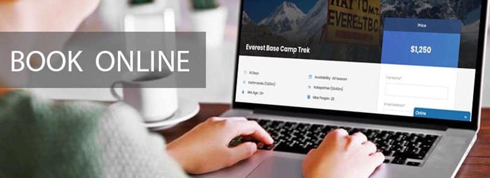 Booking Trek Online in Nepal