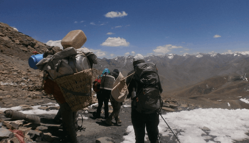 Cooking and Helper for upper dolpo trek