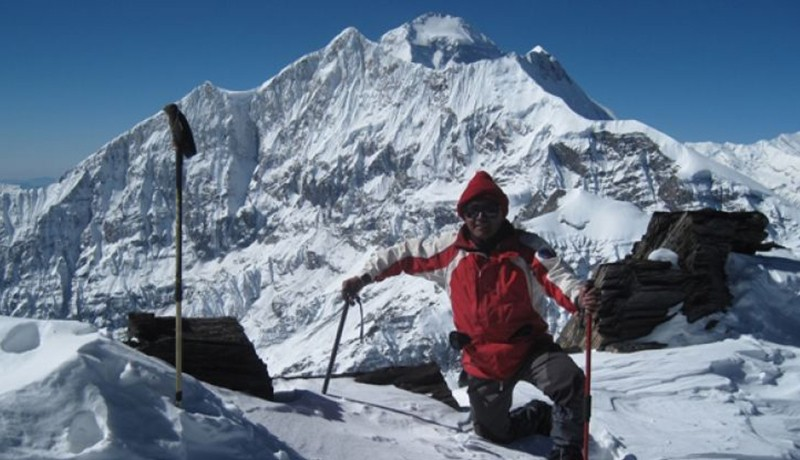 Dhampus Peak (Thapa Peak) Climbing