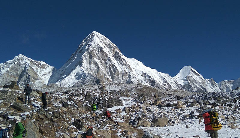 gorakshep everest base camp short trek