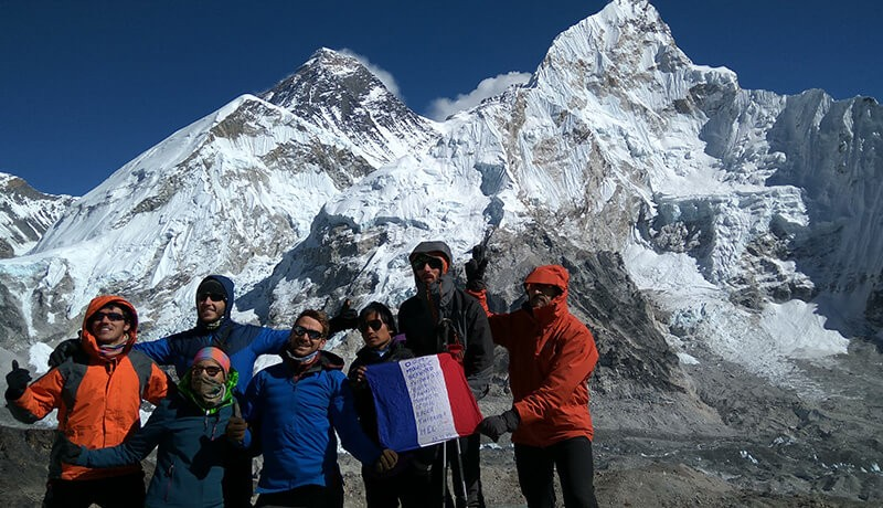 Trek to Top of the World, Everest Base Camp