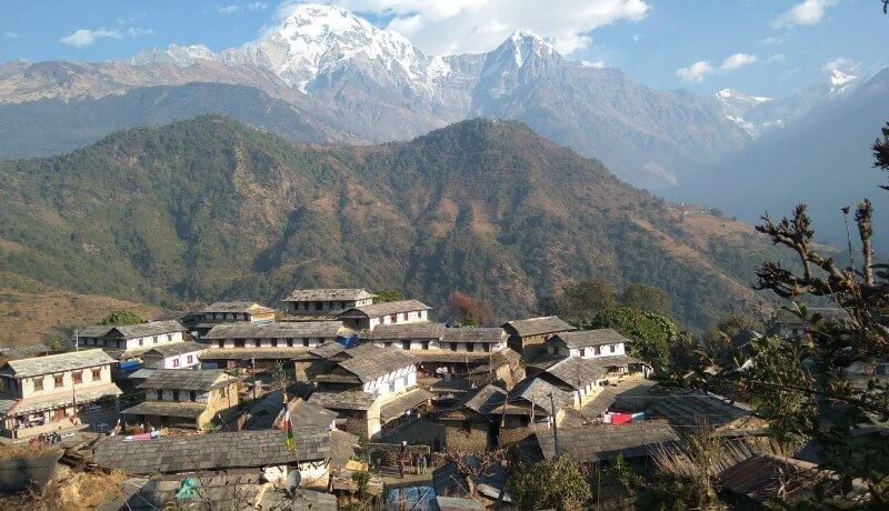 ghandruk village pokhara