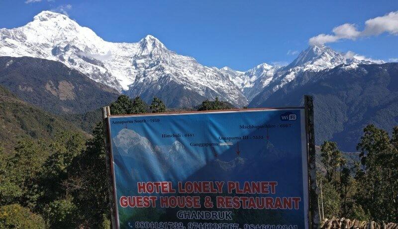 teahouse accommodation in ghandruk trek