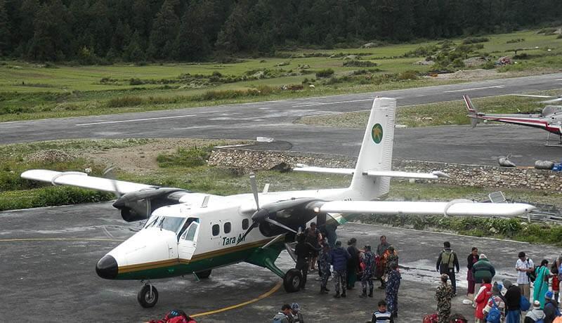 simikot airport nepal