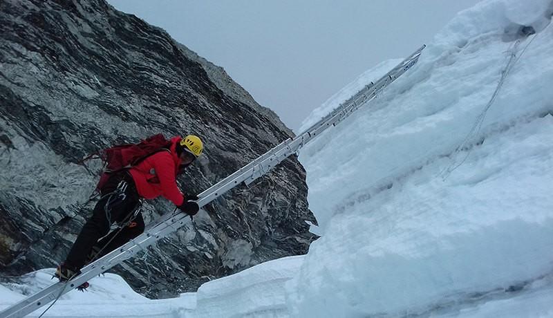 Imja Tse Climbing