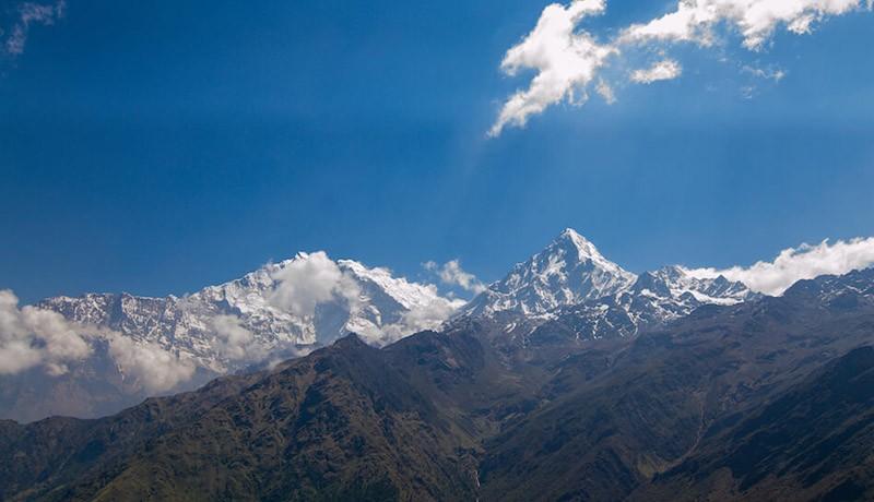 khopra danda trek highlights