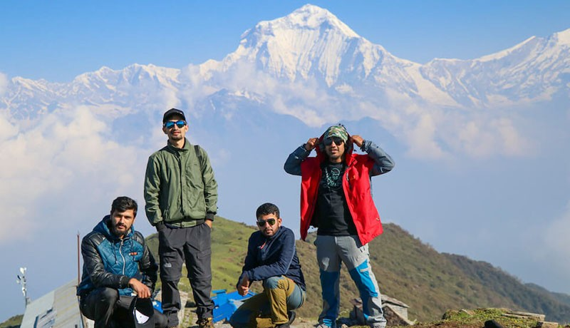 khopra danda trek without guide