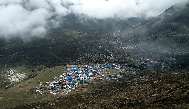 Heli Ride to Highest Point of Langtang Kyangjin Ri