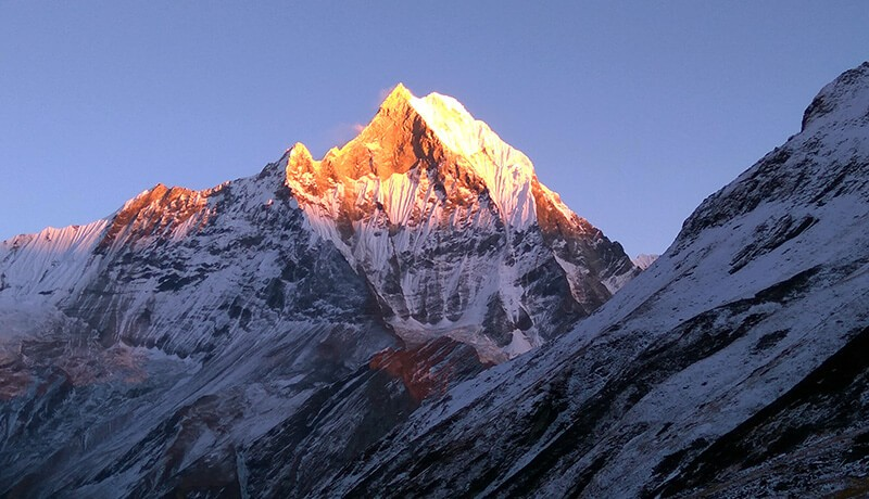 mount annapurna height