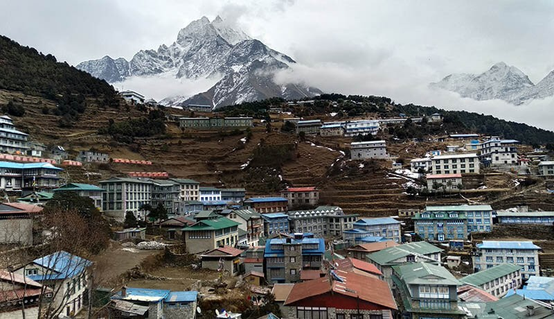 namche bazaar everest base camp short trek