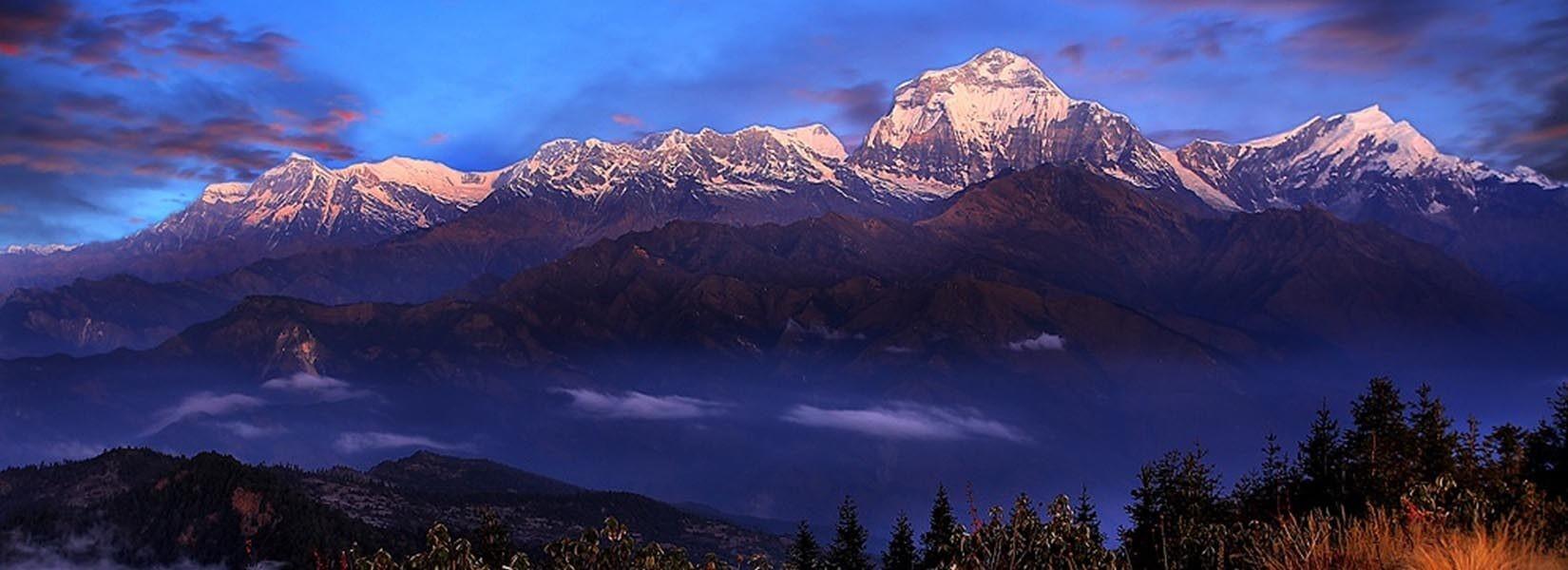 short trekking nepal