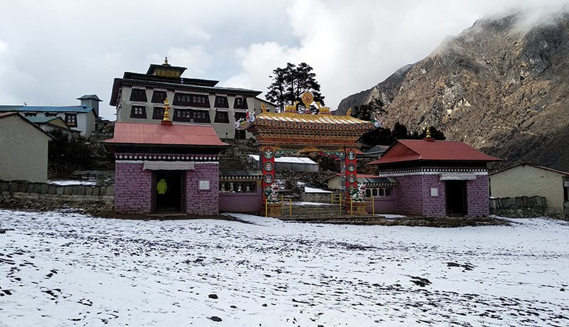 tengboche monastery everest nepal