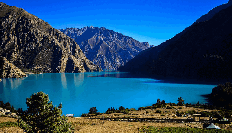 upper dolpo to phoksundo lake trek
