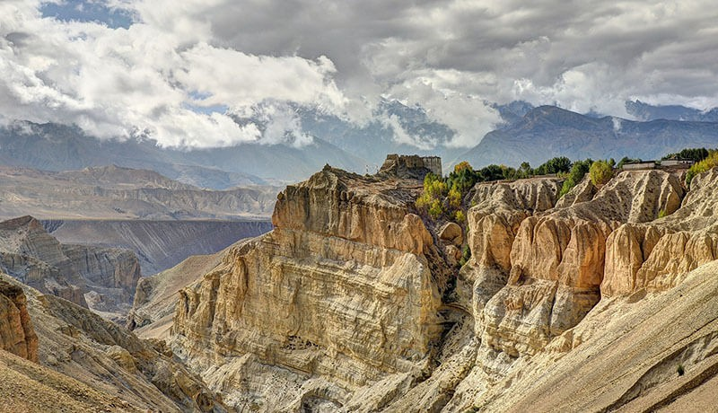 tsarang height mustang nepal