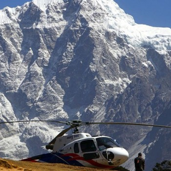 everest base camp trek fly back by helicopter